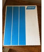 "NEW! Norton 00330 9""X11"" Grit P40-D  A211 Adalox Paper Norton Box Of 25 - $28.95"