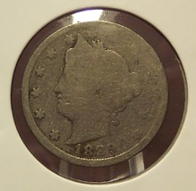 "1889 Liberty ""V"" Nickel AG #088 - $4.99"