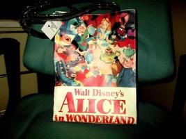 "Walt Disney Alice in Wonderland 12""x9"" Tote Bag w/Matching Wristlet Tagged NEW - $98.01"