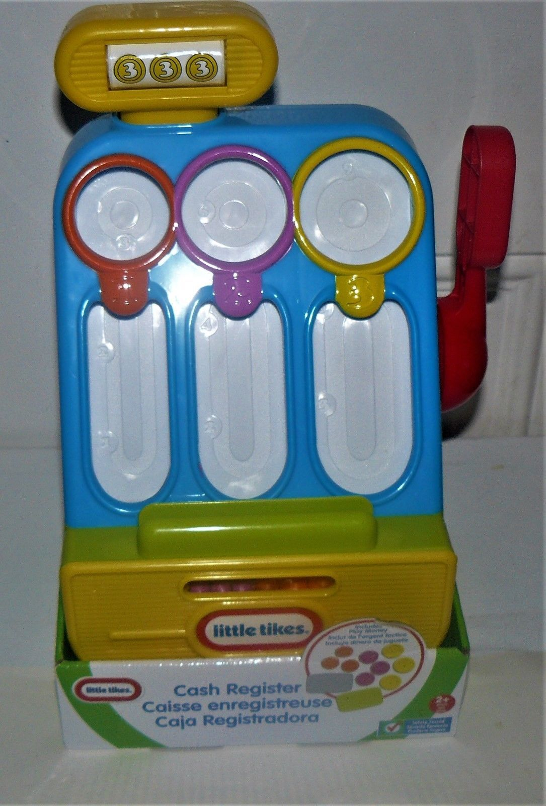 Primary image for Toy Cash Register Play Set by Little Tikes with Coins and Cards Age 2 and Up