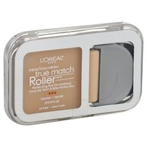 L'OREAL True Match Roller Makeup, Neutral, Soft Ivory/Classic Ivory N1-2  - $9.85
