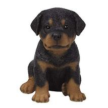 Pacific Giftware PT Realistic Look Black and Tan Rottweiler Puppy Dog Ho... - $24.74
