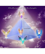 Pyramid of Power with Archangels for Protection. Spirituality method - $199.99