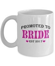 Bride Mug, Bride Coffee Mug, Gifts For Wife Drink Coffee Est 2017, 11 Oz Ceramic - $14.95