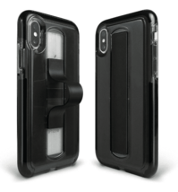 BodyGuardz Apple iPhone X/XS SlideVue Protective Case - Smoke Black NEW