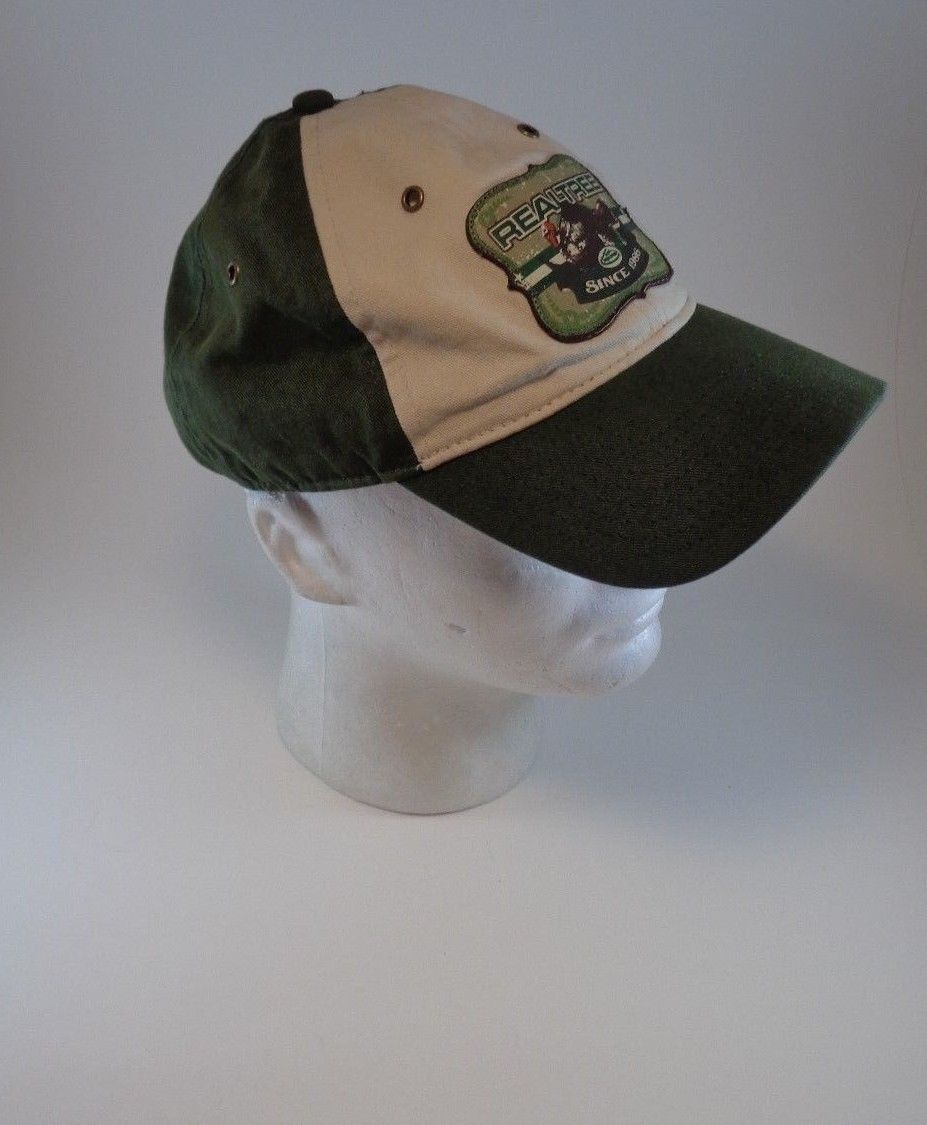 RealTree Team Real Tree Green Hat Cap One Size Hunt Fish Outdoor