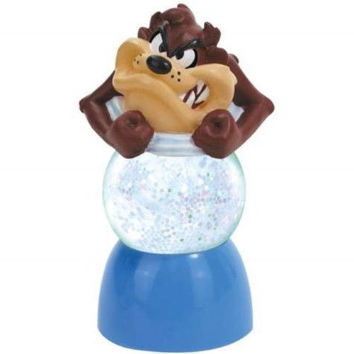 UNUSED Looney Tunes Taz Character Image 16 oz Double Wall Acrylic Mason Jar