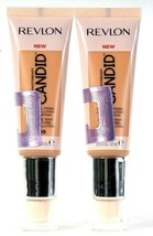 2 Count Revlon 0.75 Oz Photoready Candid 420 Sun Beige Natural Finish Fo... - $21.99