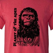 Planet of the Apes original film T-shirt retro vintage sci fi movie heather tee image 1