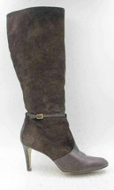 Ann Taylor Women Leather Knee High Fashion Boots Size US 10M Brown - $28.81