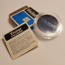 Vintage Vivitar 55mm 80A Filter. Pre-owned, good shape.   - $11.00