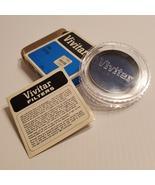 Vintage Vivitar 55mm 80A Filter. Pre-owned, good shape.   - $11.00