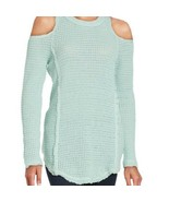SAKS FIFTH AVENUE COLD SHOULDER SWEATER SIZE SMALL NWT - $9.89