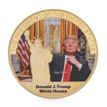 Children Love Interesting White House Design Trump Commemorative Coin Zi... - $11.99
