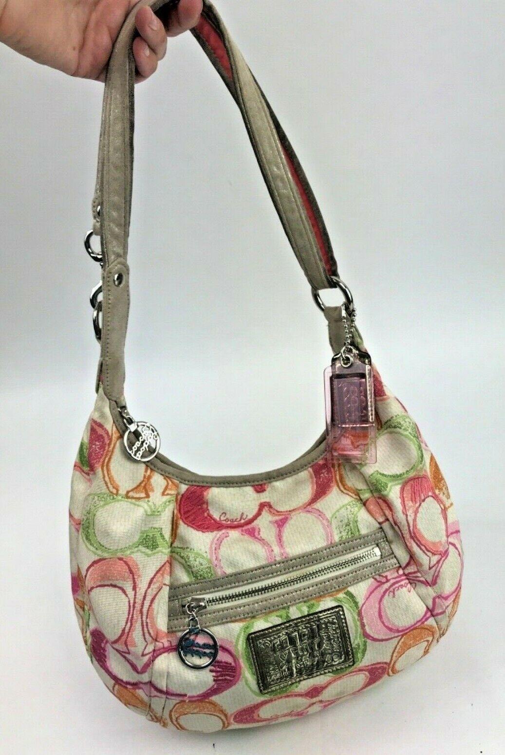 Coach Scribble Print Signature Dream C Shoulder Crossbody Bag 16700 Summer