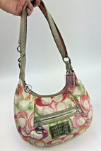 Coach Scribble Print Signature Dream C Shoulder Crossbody Bag 16700 Summer - $39.59