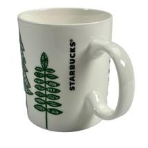 2015 Starbucks Christmas Holiday Tree 12 fl oz White Green Tea Coffee Mu... - $7.34
