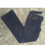 Banana Republic Curvy Boot Jeans Womens Size 27 Dark Wash Stretch - $9.90