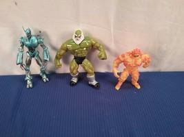 Set Of 3 Vintage Late 90's Marvel Figures Hulk Ultron (OAS2) - $25.50