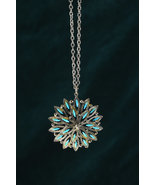 Zuni Turquoise and Silver Sunburst Pendant Necklace - $275.00