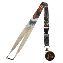 Assassins Creed Origins Video Game ID Badge Holder Keychain Lanyard - $11.50