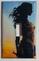 Wonder woman Light Switch Outlet Toggle Rocker Wall Cover Plate Home decor