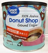 Great Value Donut Shop Medium Roast Ground Coffee 30.5 oz - $9.40