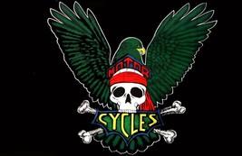 EAGLE WINGS SKULL MOTORCYCL 3X5 FLAG BIKIERS 3 x 5 biker cross bones ban... - $6.27