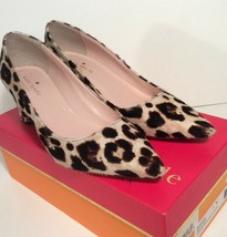 Kate Spade Size 7 Leopard Print Real Fur Calf Hair *Damage* Dress Pumps Shoes - $96.79