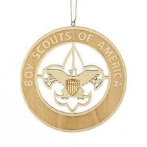 Boy Scouts Of America Wooden Laser Cut Emblem Ornament w - $9.99