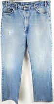 VTG Levis Mens 517 Light Wash Denim Orange Tab Bootcut Distressed Jeans ... - $54.45
