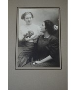 CABINET CARD Vintage Photo of Young Ladies 1920s Photograph Michigan - $6.90