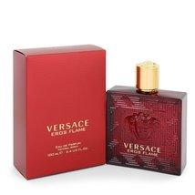 Versace Eros Flame 3.4 Oz Eau De Parfum Cologne Spray  image 4