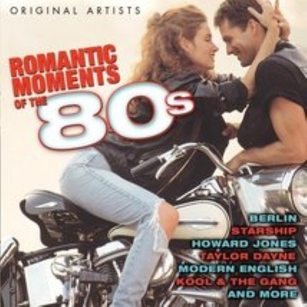 Romantic Moments Of The 80's by Various Artists Cd