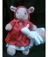 "Sylvia Long's Mother Goose~The Mary Doll"" A 6.5"" Red Riding Hood Bunny - $6.99"