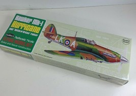 Model Airplane Kit, Flying, Guillow WWII British Hawker Mk1 Hurricane  G... - $18.99