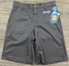 Wave Zone Board Shorts Youth Boy's Size 10 Swim Trunks Grey Diamond Print  - $9.89