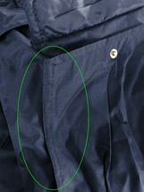 Men's Heavy Weight Winter Coat Removable Hood Puffer Parka Jacket w/ Defect  2XL image 4