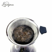 Reusable Stainless Steel Coffee Filter Cone Paperless Mesh Coffee Funnel... - $15.44+