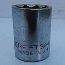 """Vintage Craftsman 5/8"""" Socket, V Series, #44224, 8 Point Star, 1/2ʺ Drive USA - $11.75"""