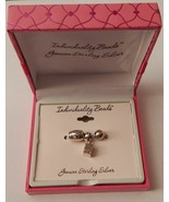 Sterling Silver Individuality Beads Charm Set of 3 - Hope, Prayer Box NEW - $34.99