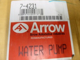D4TZ-8501-C Ford Water Pump Remanufactured By Arrow 7-4231 image 2