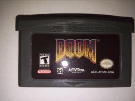 Doom Nintendo Game Boy Advance 2001 GBA Handmade - $9.50