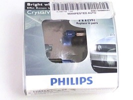 Philips Headlight Bulb-CrystalVision Ultra H1 Fits Many BMW Mercedes-Ben... - $24.06