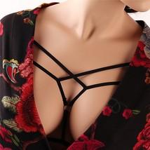 Harness Bra Women - Fashion Elastic Halter Strappy Harness Bra Body Cage... - $10.90