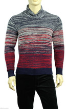 NEW MENS TOMMY HILFIGER SHAWL COLLAR LAMBSWOOL BLEND PULLOVER SWEATER $169 - €51,40 EUR