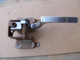 1987 BROUGHAM LEFT REAR INSIDE DOOR HANDLE OEM USED CADILLAC 1988 1991 7... - $66.48