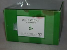 Department 56 Lollysticks Ornament by Kim Bowles Santa - $7.43