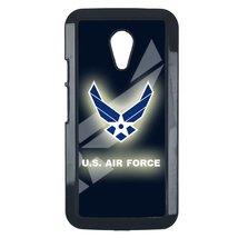 Air Force Motorola Moto E case Customized premium plastic phone case, design #12 - $11.87