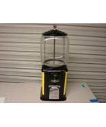 Victor Topper gumball machine 1950's Black/Yellow 1 cent - $163.35